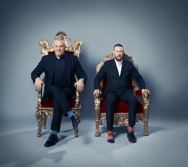 Taskmaster - Series 4 - Picture Shows: Greg Davies and Alex Horne